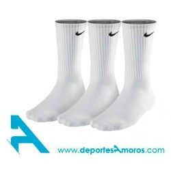 Calcetines Nike 3PPK CUSION CREW Blanco
