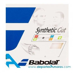 Cordaje Babolat SYNTHETIC GUT Blanco