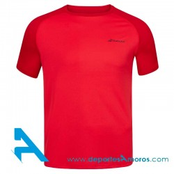 Camiseta PLAY CREW NECK TEE MEN Red