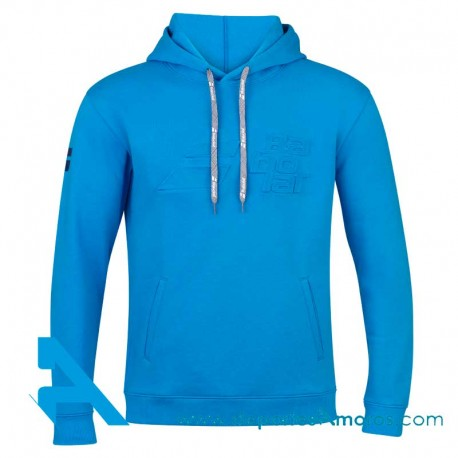 Sudadera Babolat EXERCISE HOOD SWEAT Blue